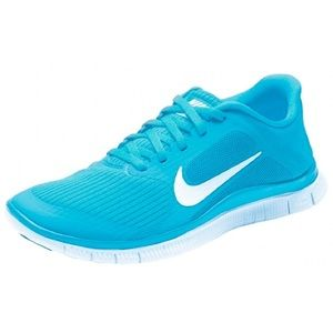 Nike | Free 4.0 v3 Teal Running Shoes
